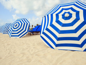 The beach at Prime Vacation Rentals.