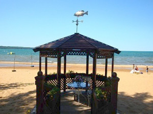 Beach Gazebo at The Beach Haus Resort