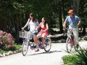 Bike rentals at The Inn at Stonecliffe.