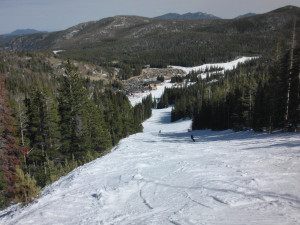 Skiing at SkyRun Vacation Rentals - Nederland, Colorado.