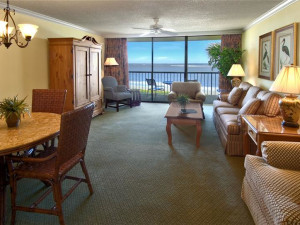 Suite interior at The King and Prince Beach Resort.