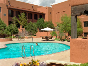 Outdoor Pool at The Lodge at Santa Fe