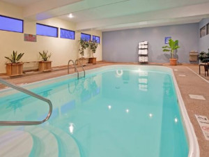 Indoor pool at Holiday Inn Express Osage Beach.