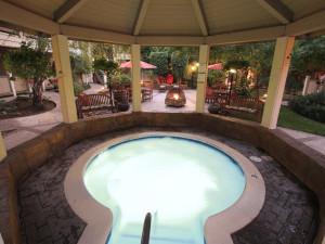 Hot tub at Best Western Sonoma Valley Inn & Krug Event Center.
