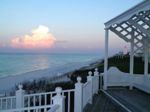 Beach view at Cottage Rental Agency SEASIDE.