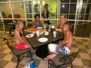 Dining at Perdido Beach Resort.