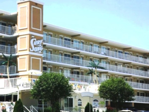 Exterior view of Surf Song Beach Resort.