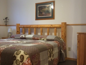 1 Bedroom Luxury Suite -- Suite #8 at Northern Lights Lodge & Resort.