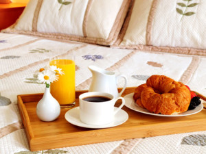 Continental Breakfast at America's Best Value Inn San Mateo/San Francisco