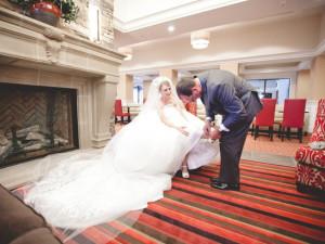 Wedding at Penn Wells Hotel & Lodge.