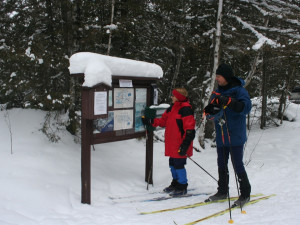 Winter activities at Poplar Creek  B & B.