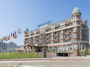 Exterior view of Radisson Blu Palace Hotel.