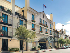 Exterior view of Langham Sydney Hotel.