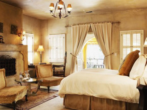 Guest room at Kenwood Inn and Spa.