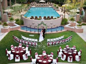 Wedding at Gainey Suites.