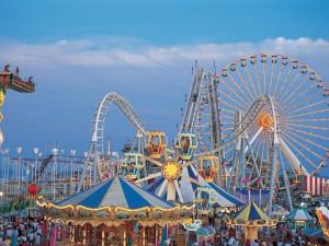 Wildwood amusement park near Monterey Resort.