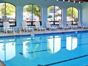 Indoor pool at Penn Wells Lodge.
