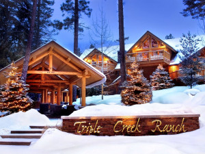 Exterior view of Triple Creek Ranch.