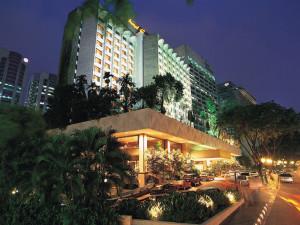 Exterior view of Hotel Equatorial Kuala Lumpur.