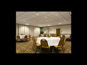 Banquet room at Days Inn Sidney.