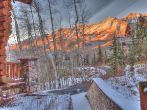 Mountain view at SkyRun Vacation Rentals - Telluride, Colorado.