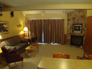 Interior view Kavanaugh's Sylvan Lake Resort.