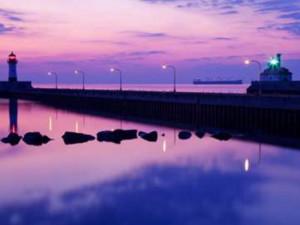 Gorgeous Sunrise at Hampton Inn Duluth