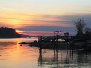 Sunrise at Bar Harbor Inn & Spa.