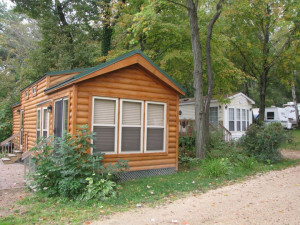 Cabin Rental at Merry Mac's Campground