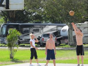 Basketball at Miami Everglades.