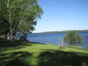 Lake view at Big Buffalo Resort.