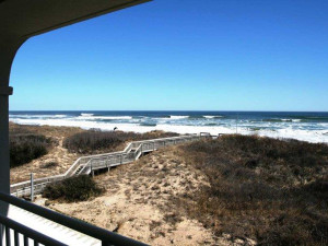 Balcony view at Hampton Inn & Suites Outer Banks/Corolla.