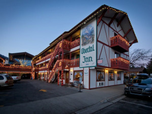Exterior view of Obertal Inn.