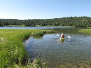 Kayaking near Summit Vacations.