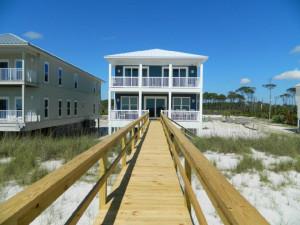 Vacation rental exterior at Teresa's Beach Vacation Rental Homes.
