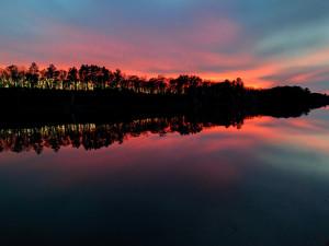 Sunrise at Pine Terrace Resort.