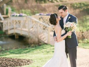 Wedding couple at Boar's Head Resort.
