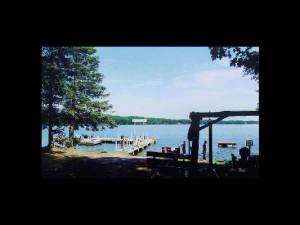 Lake view at Timberlake Lodge.