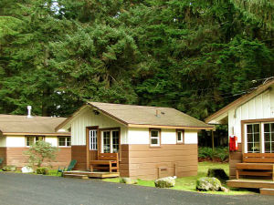 Cabins at Three Rivers Resort.