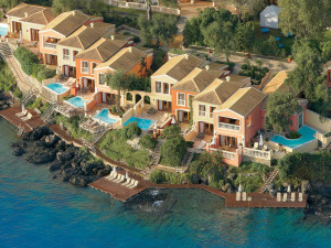Exterior view of Grecotel Corfu Imperial.