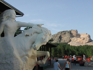 Crazy Horse Memorial near Backroads Inn and Cabins.