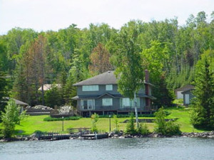 Cabin Exterior at Spring Bay Resort