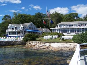 Resort view atLinekin Bay Resort.