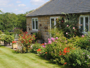 Cottage exterior at Harrogate Holiday Cottages.