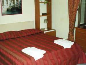Guest room at Roman and Italian B&B.