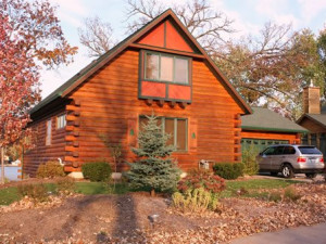 Exterior View of Sand Country Service Company's Lake Wisconsin Cabin Vacation Rental