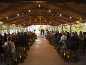 Wedding ceremony at Mountain Harbor Resort & Spa.