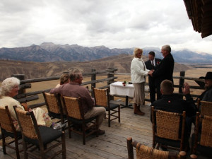 Wedding at Spring Creek Ranch