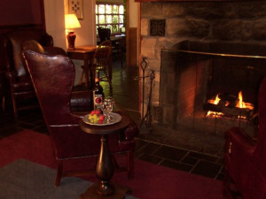 Fireplace suites at Stroudsmoor Country Inn.