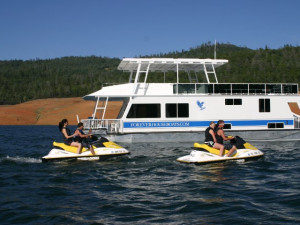 Jet ski rental at Lake Oroville.
